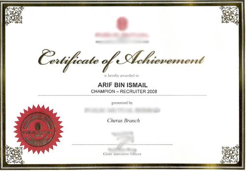 Caliph Unit Trust Agency- champion-consultant-recruiter-cheras