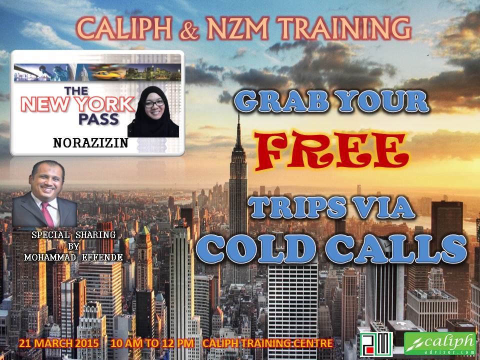 Caliph & NZM Training at Caliph Training Centre on 21 March 2015