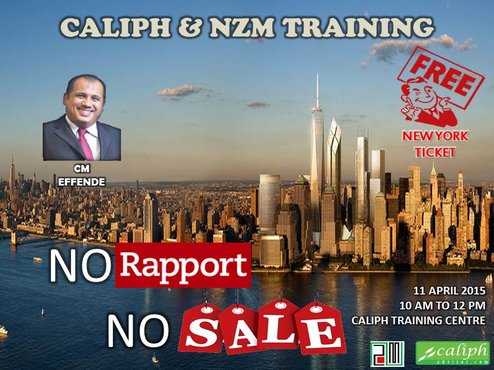 Caliph & NZM Training  at Caliph Training Centre on 11 April 2015