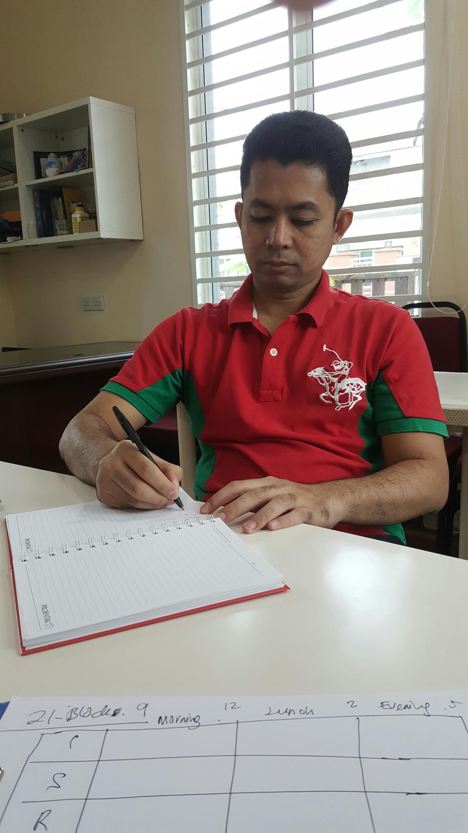 Personal Coaching untuk Agen Unit Amanah Baru